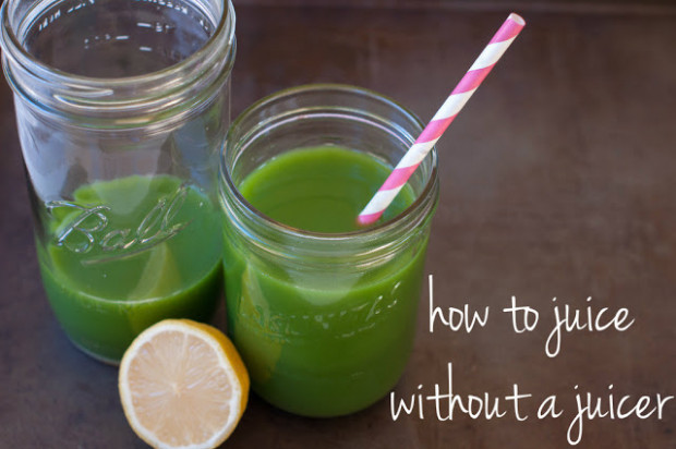 "how to make a ""mean green juice"" without a juicer - Marin .."