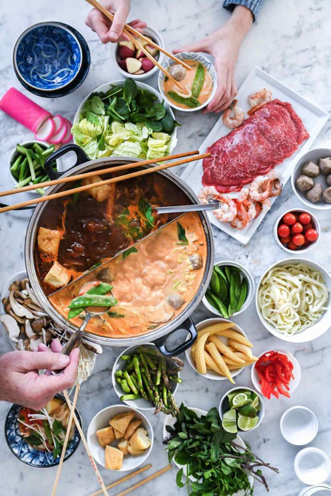 How to Make an Easy Asian Hot Pot | foodiecrush