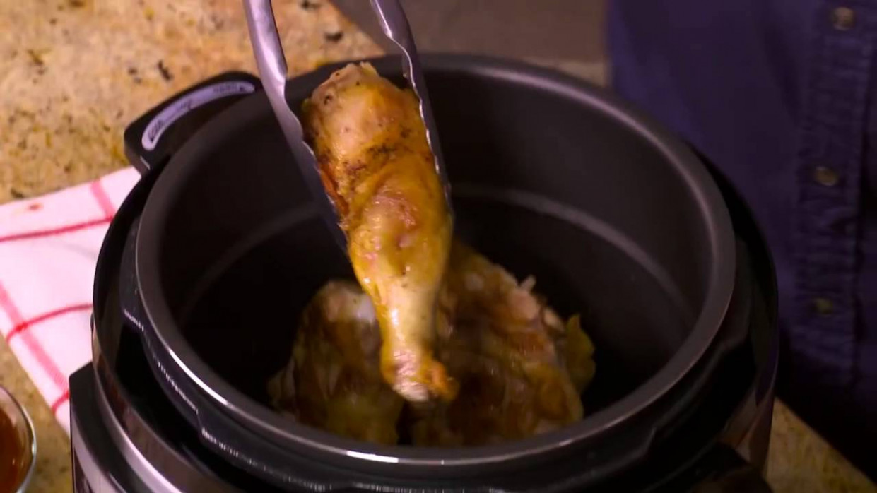 How to Make BBQ Chicken with the Power Pressure Cooker XL - power cooker xl chicken recipes