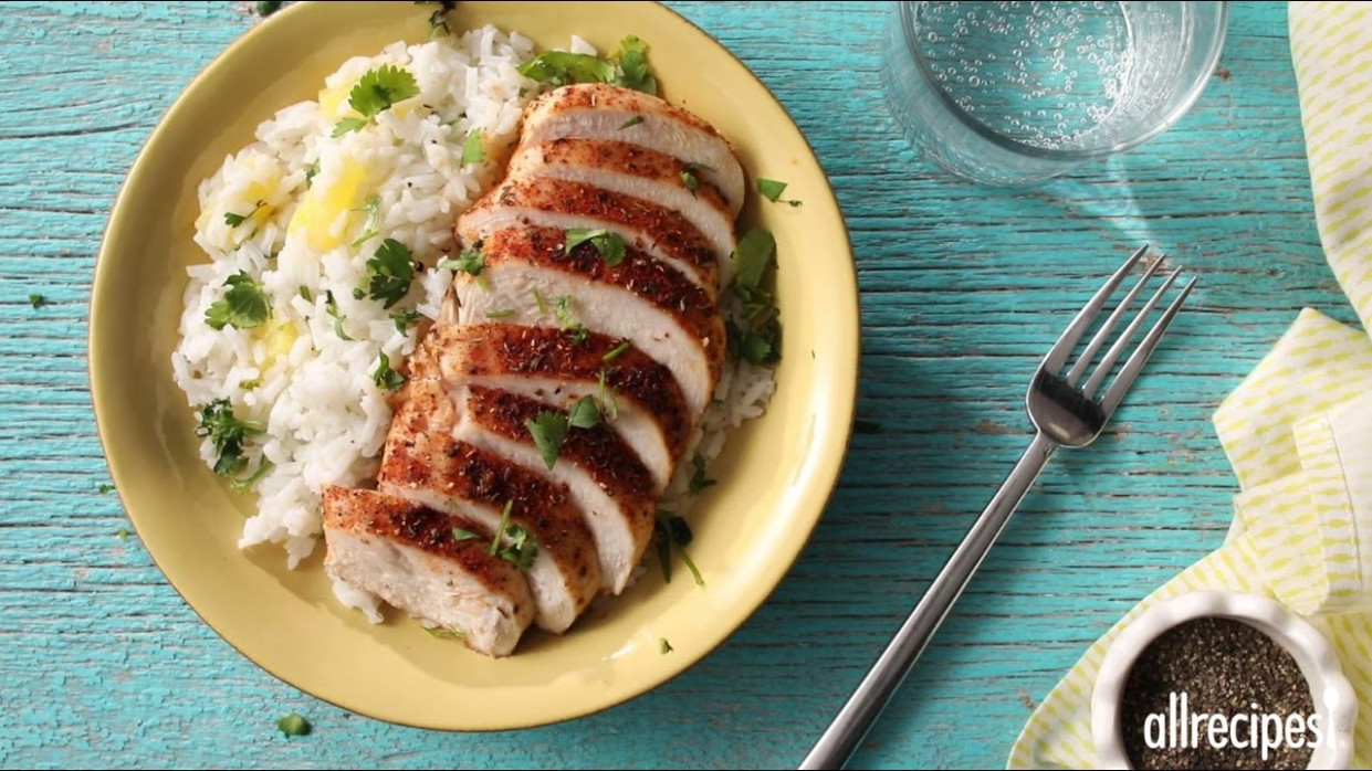 How to Make Caribbean Chicken with Pineapple Cilantro Rice ..