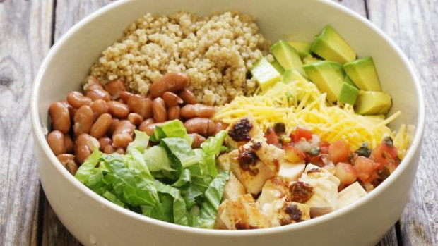 How to Make Chipotle Chicken Quinoa Burrito Bowls - EatingWell - healthy recipes quick and cheap