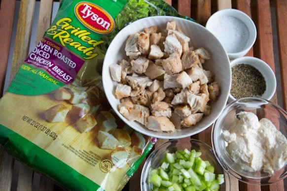 How to make Classic Chicken Salad - Chef Dennis - recipes diced chicken breast
