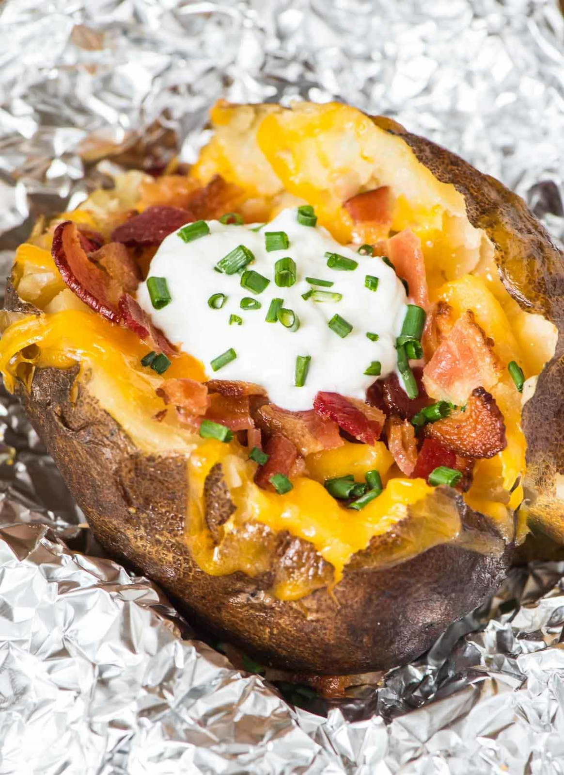 How to Make Crock Pot Baked Potatoes | Well Plated by Erin - oven baked potato recipes dinner