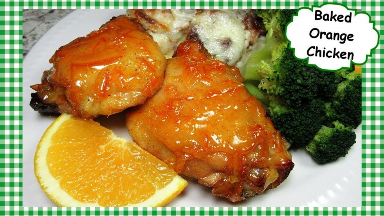 How To Make Easy Oven Baked Orange Chicken ~ Orange Chicken ..
