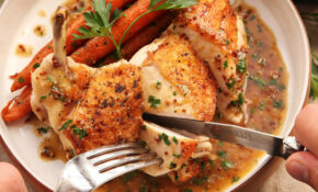 How To Make Easy Pan Roasted Chicken Breasts With Bourbon ..