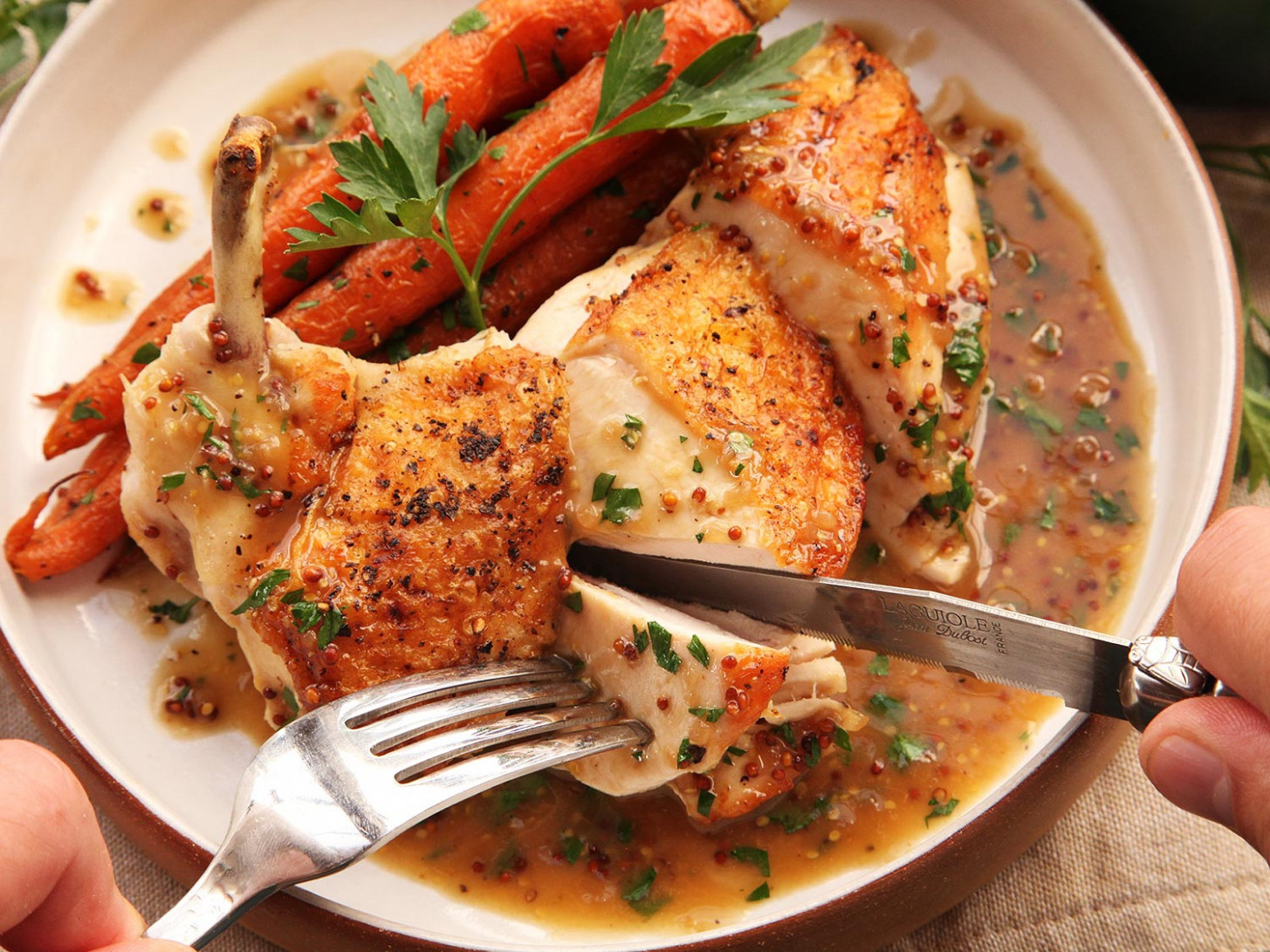 How to Make Easy Pan-Roasted Chicken Breasts With Bourbon ...