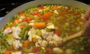How To Make Homemade Chicken Vegetable Soup Like A Real ..