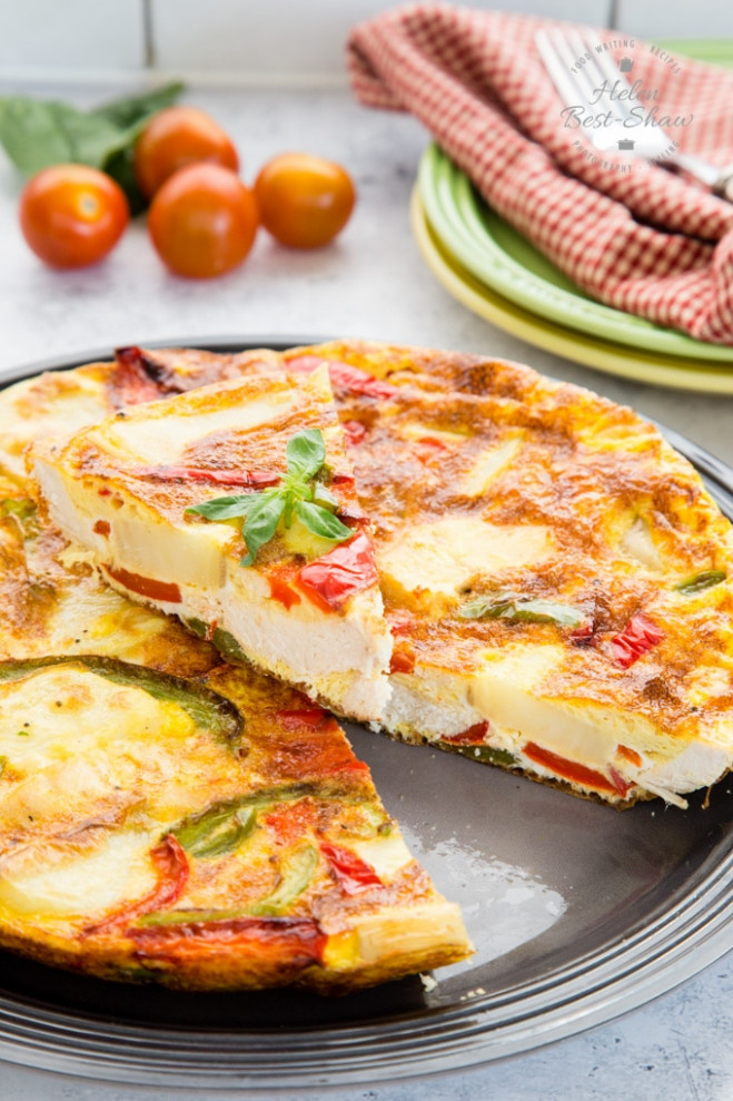 How to Make Leftover Roast Chicken Frittata | Fuss Free ..