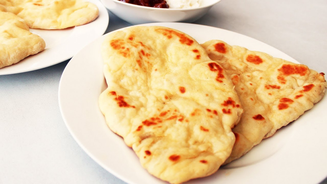 How To Make Naan Bread - Indian Video Recipe - food recipes on youtube