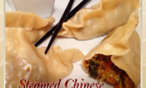 How To Make Steamed & Pan Fried Chinese Vegetable Dumplings – Recipe Vegetarian Dumplings Chinese