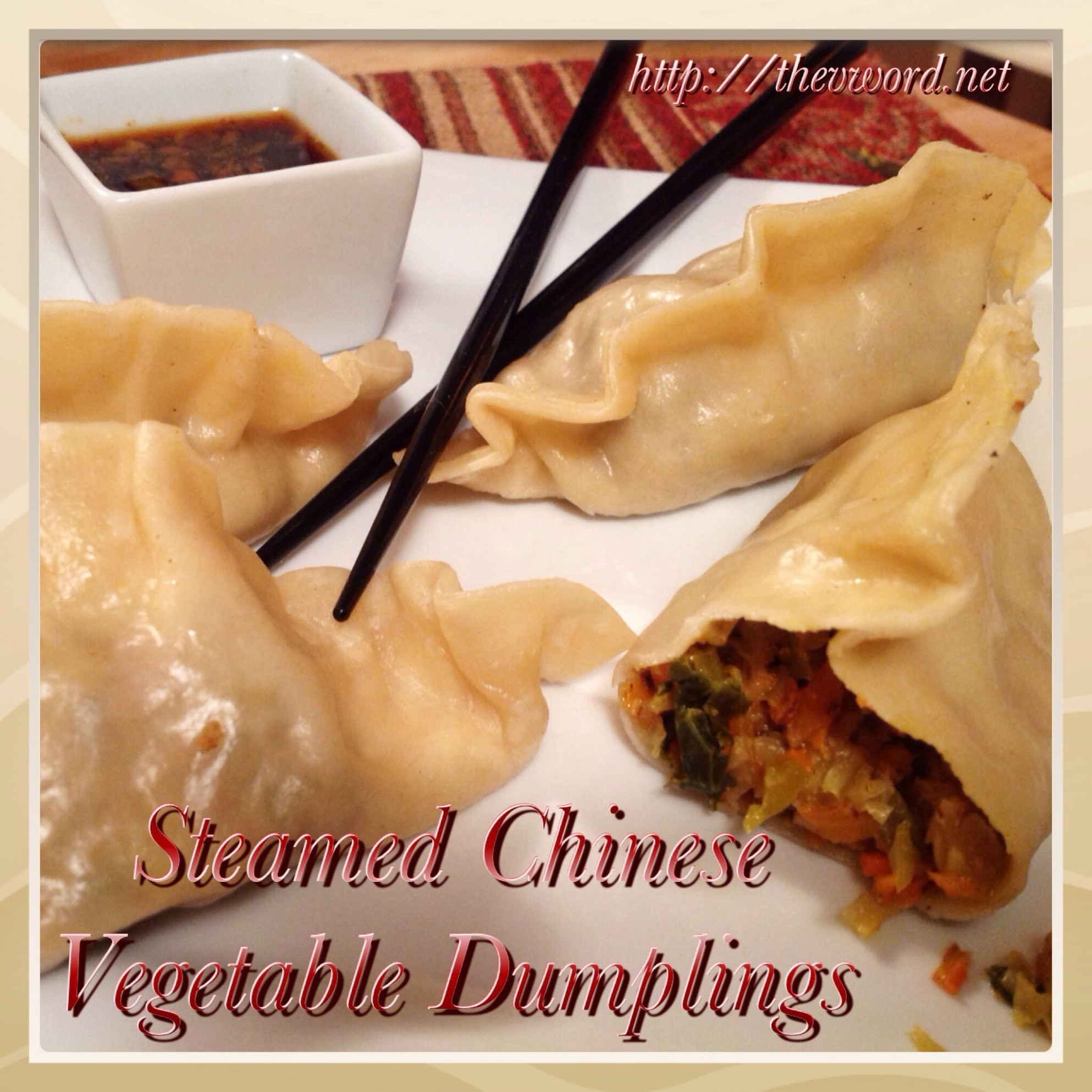 How To Make Steamed & Pan Fried Chinese Vegetable Dumplings - Recipe Vegetarian Dumplings Chinese