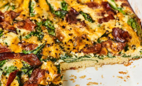 How To Make The Absolute Easiest Crustless Quiche – Recipes Vegetarian Quiche