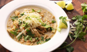 How To Make The Best Creamy White Chili With Chicken | The ..