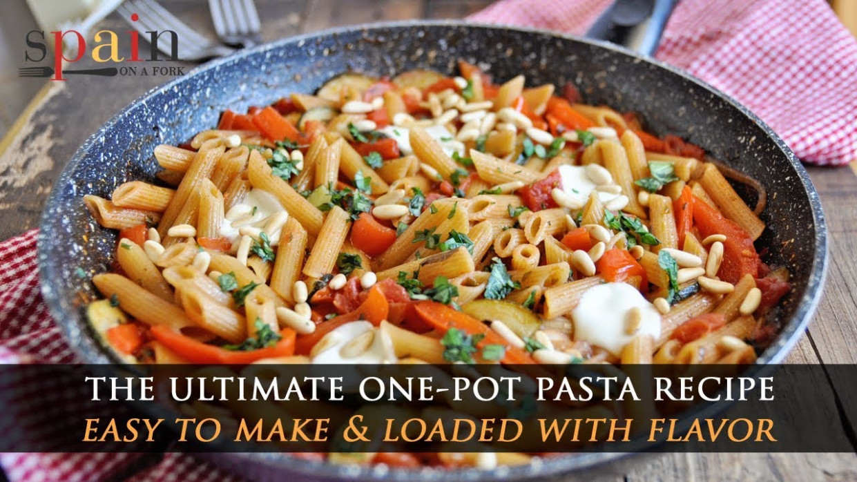 How To Make The Ultimate One Pot Vegetarian Pasta Recipe - Recipe Vegetarian One Pot