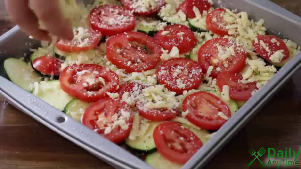 How to Make Tomato Zucchini Casserole - Vegetarian Recipes ..