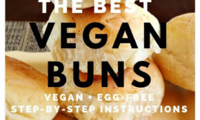 "How To Make Vegan ""Hamburger"" Buns – Recipe Vegetarian Hamburger"