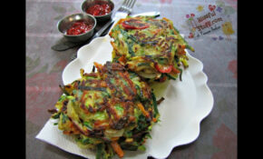How To Make Vegetable Pancake | Indian Breakfast Recipes ..