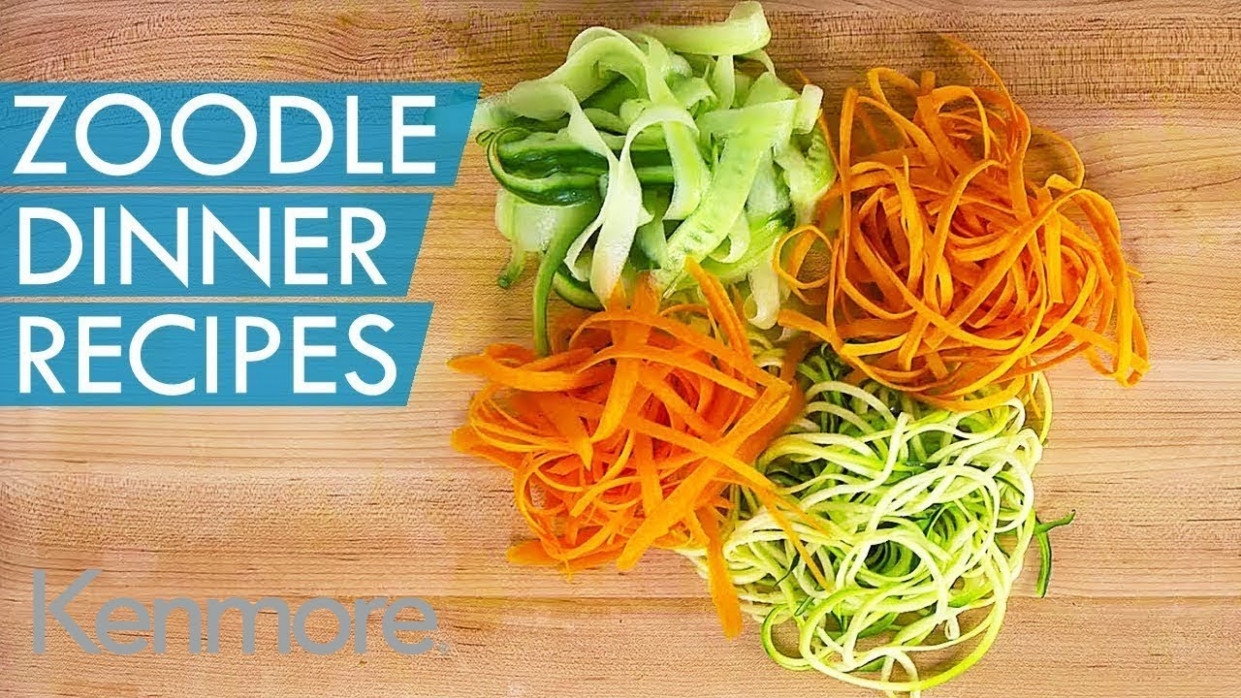 How to Make Zoodles: 15 Zoodle Dinner Ideas | Kenmore - dinner recipes with zoodles