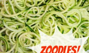 How To Make Zoodles (and A Video!) – Daily Rebecca – Vegetarian Recipes Zoodles