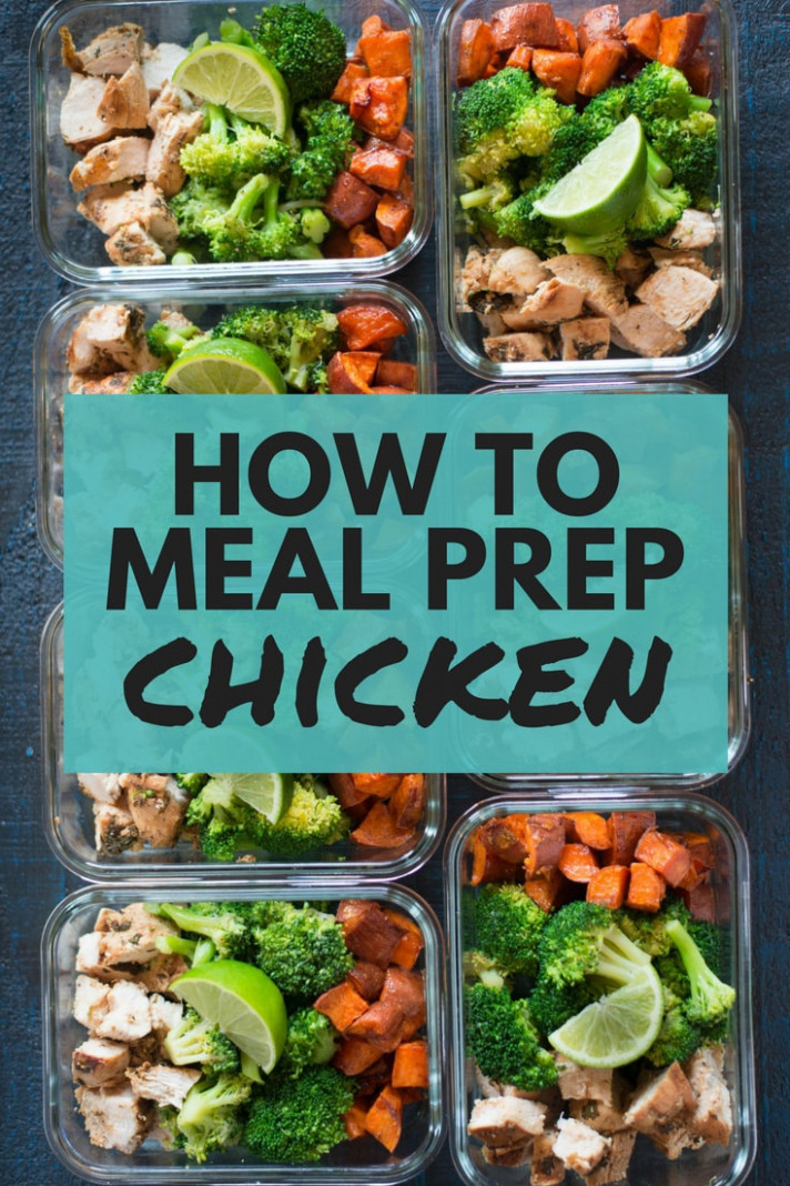 How To Meal Prep Chicken - Recipes Chicken Breast Healthy