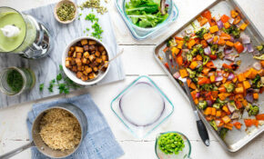 How To Meal Prep For A Week Of Vegan Lunches – EatingWell – Food Recipes Vegetarian Easy