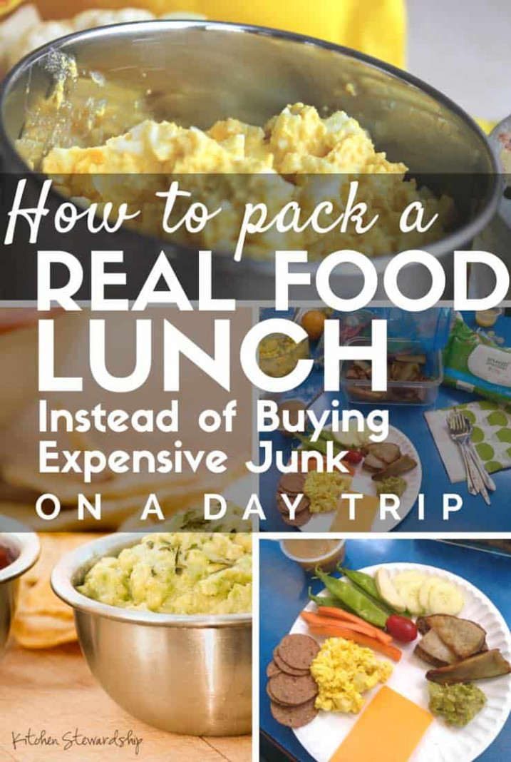 How to Pack Real Food on a Day Trip (Zoo, Theme Park, Museum) - dinner at the zoo chicken recipes
