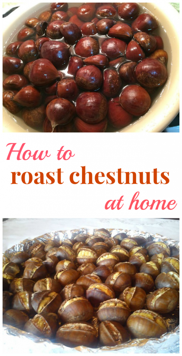 How to roast chestnuts at home - The Best Recipe Ever ..