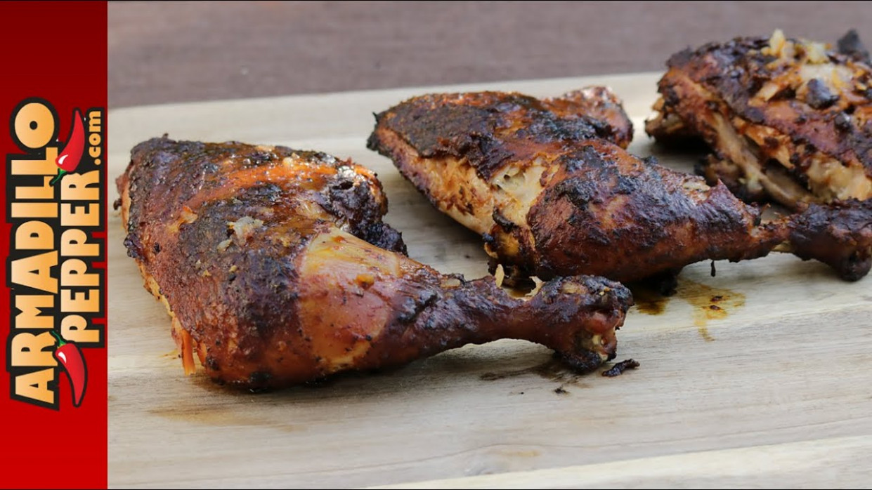 How to Smoke Chicken Quarters in Masterbuilt Electric Smoker - masterbuilt smoker recipes chicken