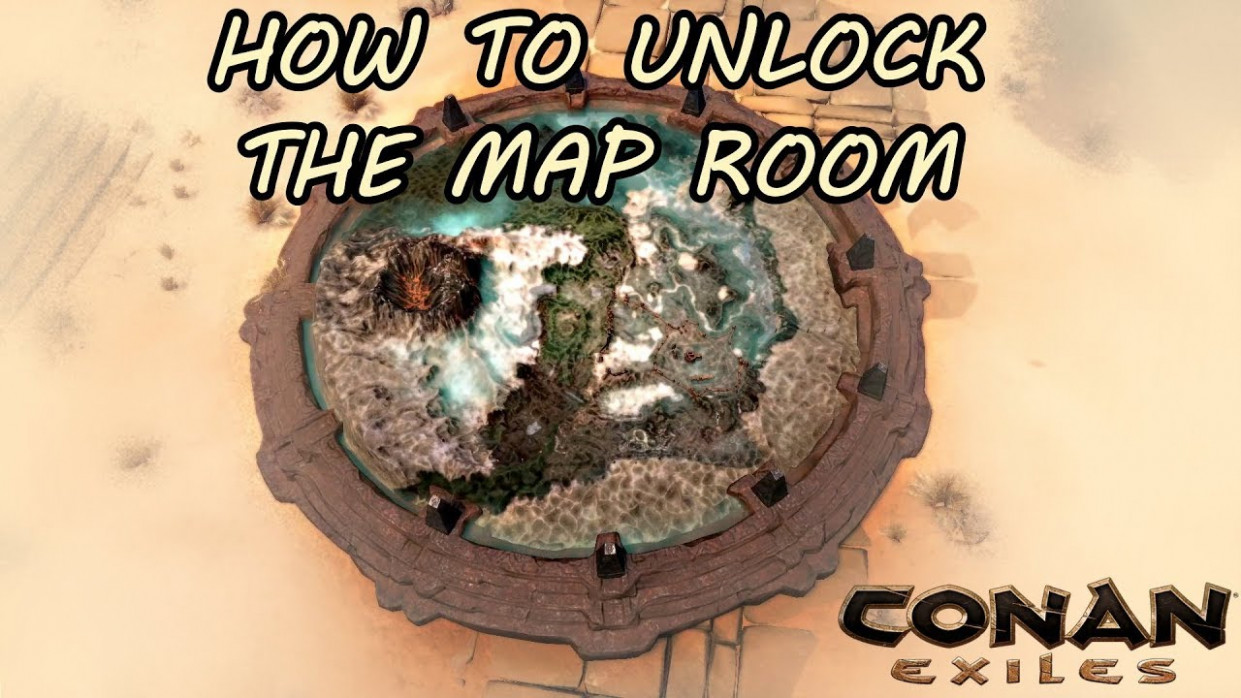 How To Unlock The Map Room (To Fast Travel Through The Map) | CONAN EXILES - food recipes conan exiles