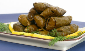 I am HOOKED on Stuffed grape leaves! Yummmmm | Stuffed grape ...