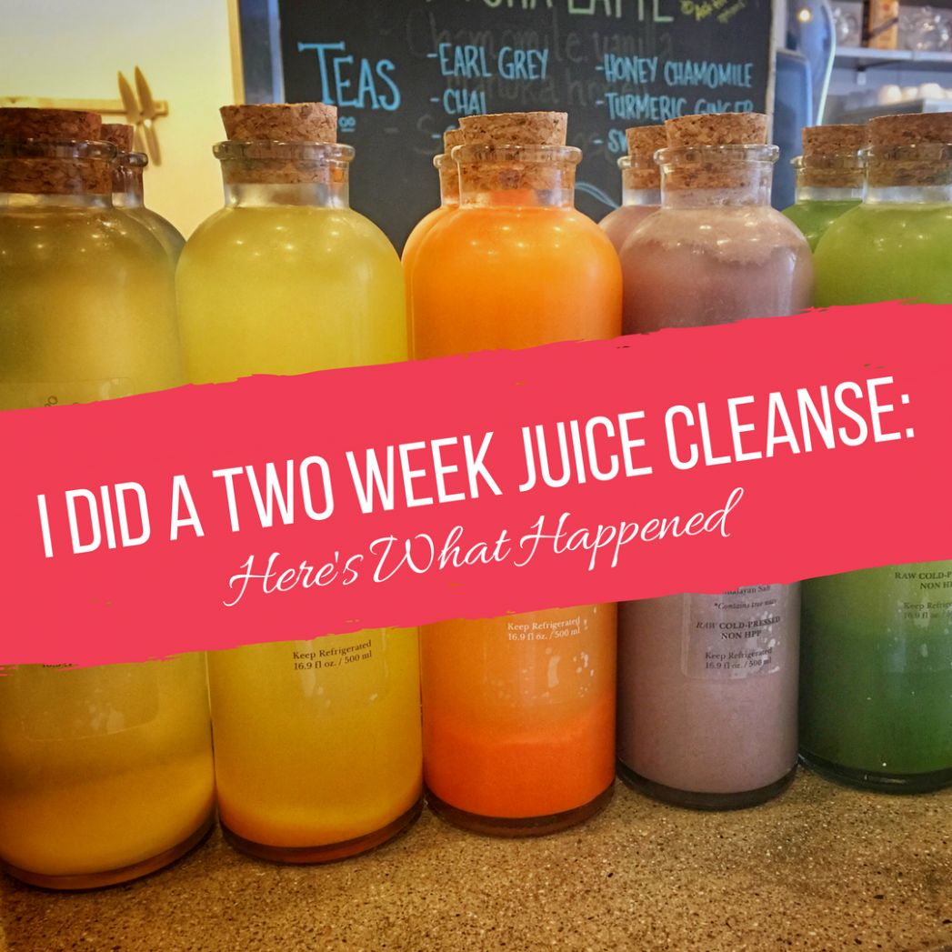 I Did A Two Week Juice Cleanse. Here's What Happened ..