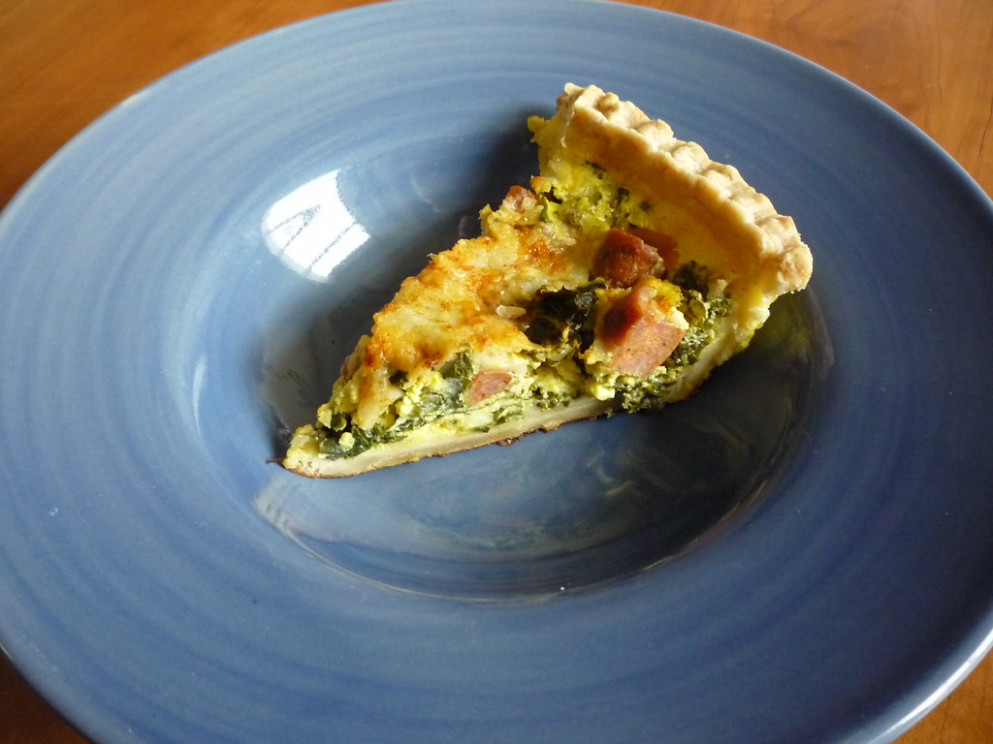 I've Never Made A Quiche Before - Recipes Kale And Chicken