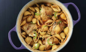 Imbakbaka – Libyan Chicken Pasta Dish – Food Recipes Wow Classic