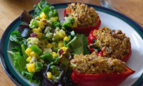 Imogen Molly: Jackfruit And Quinoa Stuffed Peppers [vegan!] – Recipe Vegetarian Quinoa Stuffing