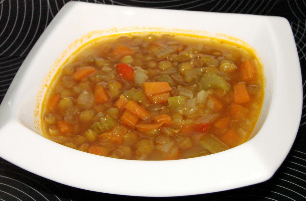 Ina Gardens Lentil Vegetable Soup - recipes lentil soup vegetarian