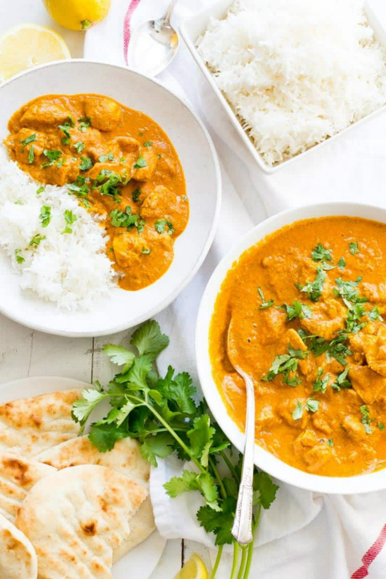 Indian Butter Chicken - recipes indian chicken