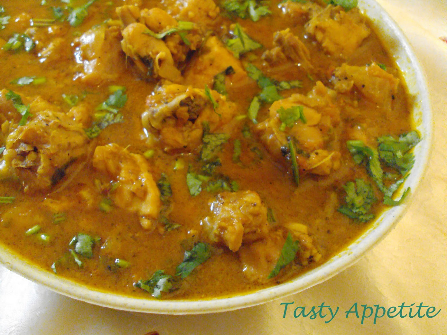 Indian Chicken Curry - chicken recipes indian