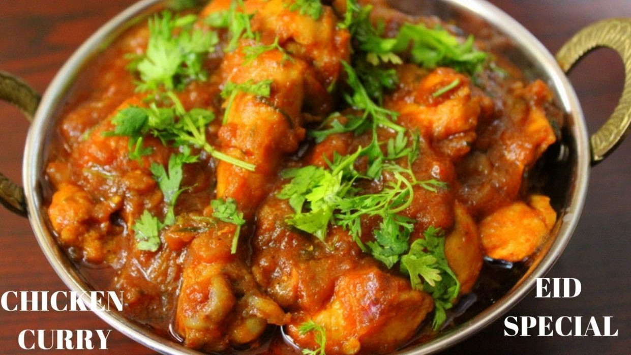 Indian Chicken Curry Recipe, Dhaba Style - Yummy Indian Kitchen - Indian Curry Recipes Chicken