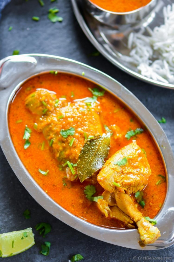 Indian Chicken Madras Curry - chicken recipes curry