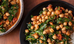 Indian Chickpea Curry With Spinach – Food Recipes Of India
