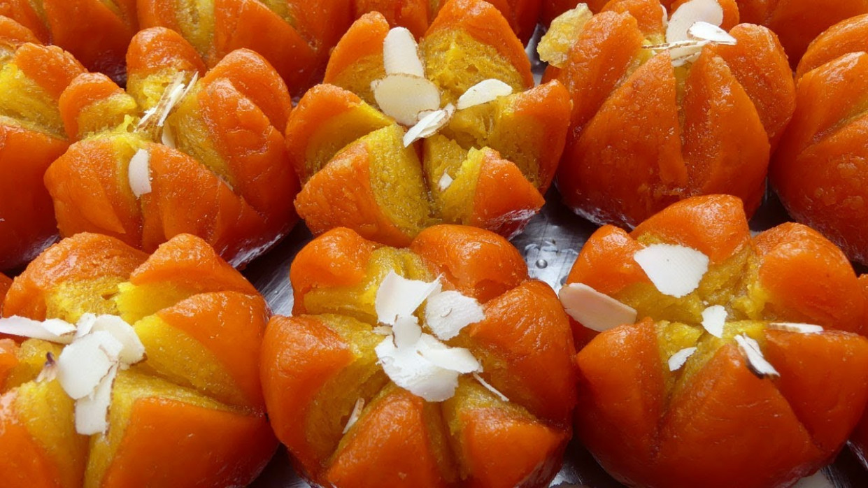 #Indian Craft Recipes | Sweet Flower | Indian Desserts ..