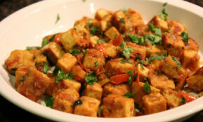 Indian Curried Tofu – Quick Lunch Recipes Indian Vegetarian