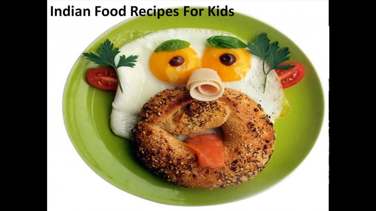 Indian Food Recipes For Kids,Recipe for Kids,Fun Food for ...