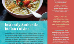 Indian Instant Pot R Cookbook: Traditional Indian Dishes ..