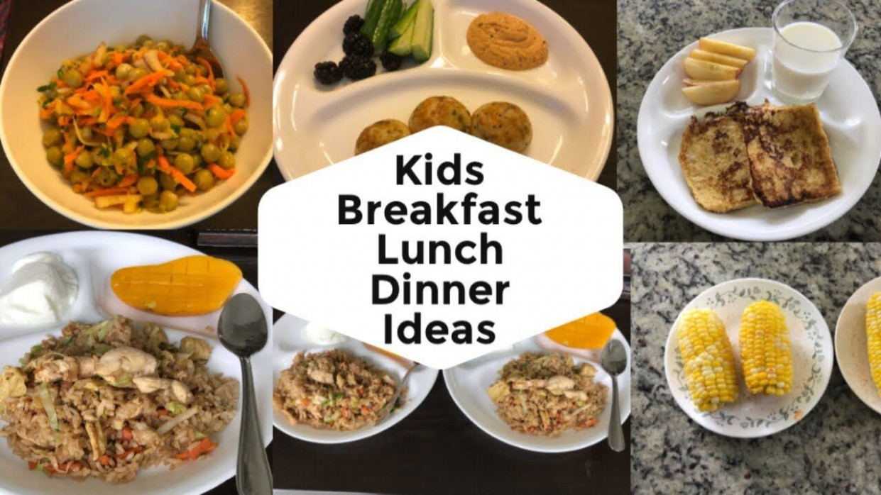 Indian Kids Healthy Food Breakfast lunch Dinner Recipe Ideas ..