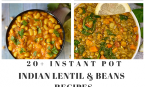 Indian Lentil & Beans Instant Pot Recipes - Indian Veggie ...