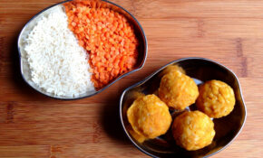 Indian Recipe For Kids: Soft Lentil & Rice Balls | Big Apple ..