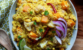 Indian Rice With Raisins And Cashews – Recipes With Rice Vegetarian