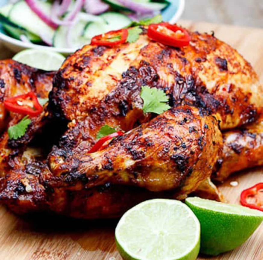 Indian Roast Chicken Recipe | Secrets Of Healthy Eating - Chicken Recipes Indian