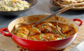 Indian Spiced Chicken Recipe & Video | Martha Stewart – Indian Food Recipes